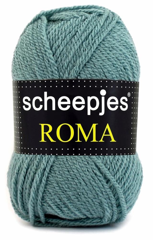 Scheepjes Roma Støvet grøn