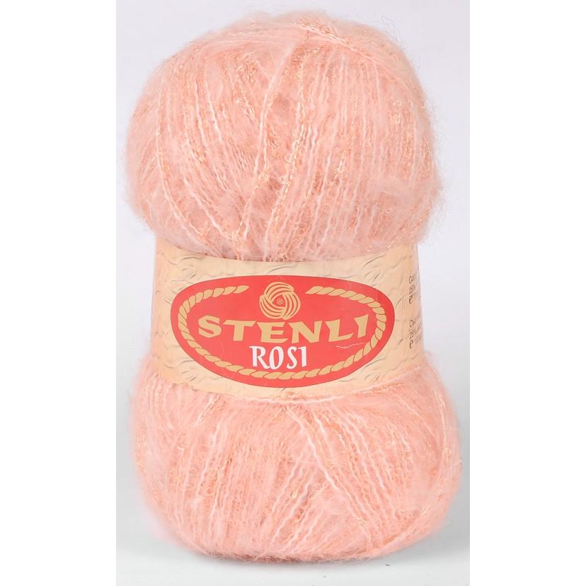 Rosi mohair & boucle 100 gram Laksefarvet 10