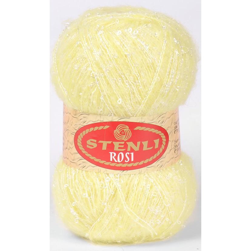 Image of   Rosi mohair & boucle 100 gram Lysegul 03