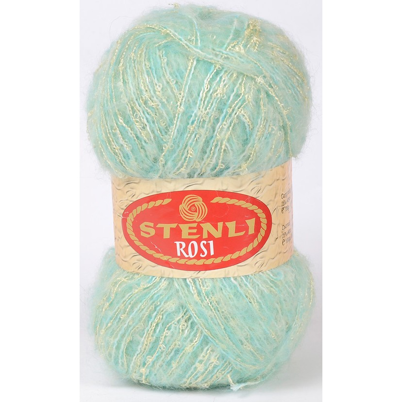 Image of   Rosi mohair & boucle 100 gram Lys Turkis 82