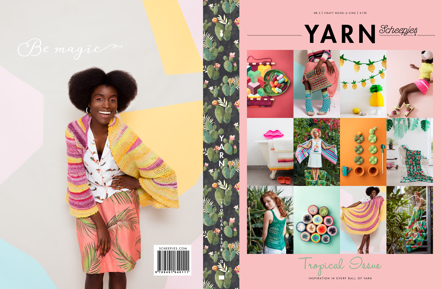 Image of Scheepjes Yarn Magasin - Tropical Issue