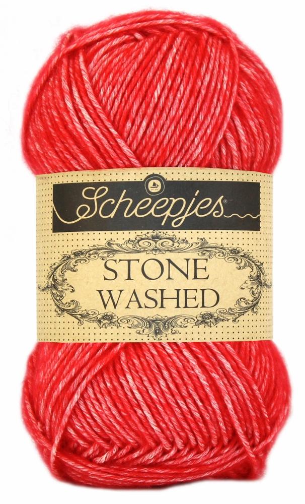 Stone washed fra scheepjes carnelian 823 fra N/A på elmelydesign.dk