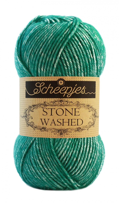 Stone washed fra scheepjes malachite 825 fra N/A på elmelydesign.dk