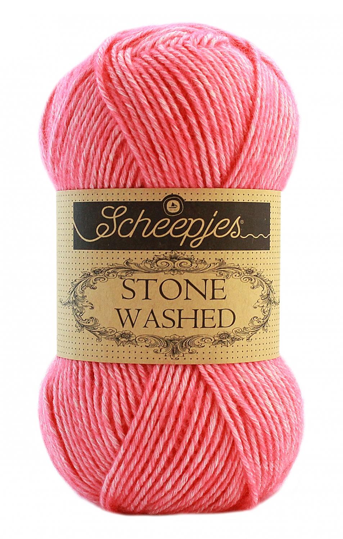 N/A Stone washed fra scheepjes rhodochrosite 835 fra elmelydesign.dk