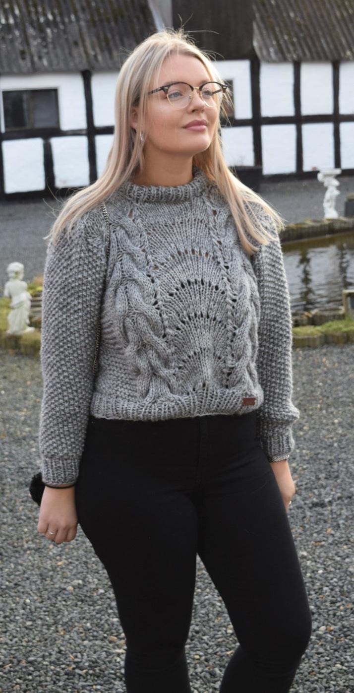 Image of   Garnpakke til Hybridgenser homemade Ganni inspireret sweater