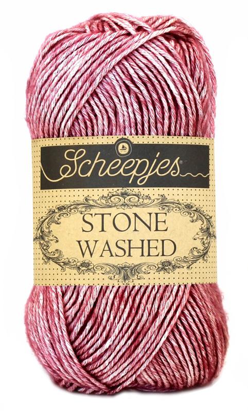 N/A Stone washed fra scheepjes corundum ruby 808 på elmelydesign.dk