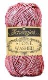 Stone Washed fra Scheepjes Corundum Ruby 808