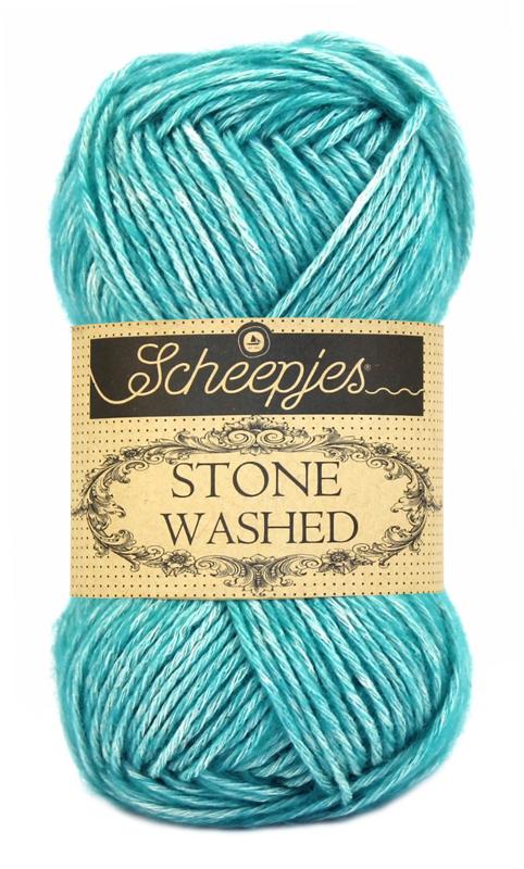 Stone washed fra scheepjes green agate 815 fra N/A fra elmelydesign.dk
