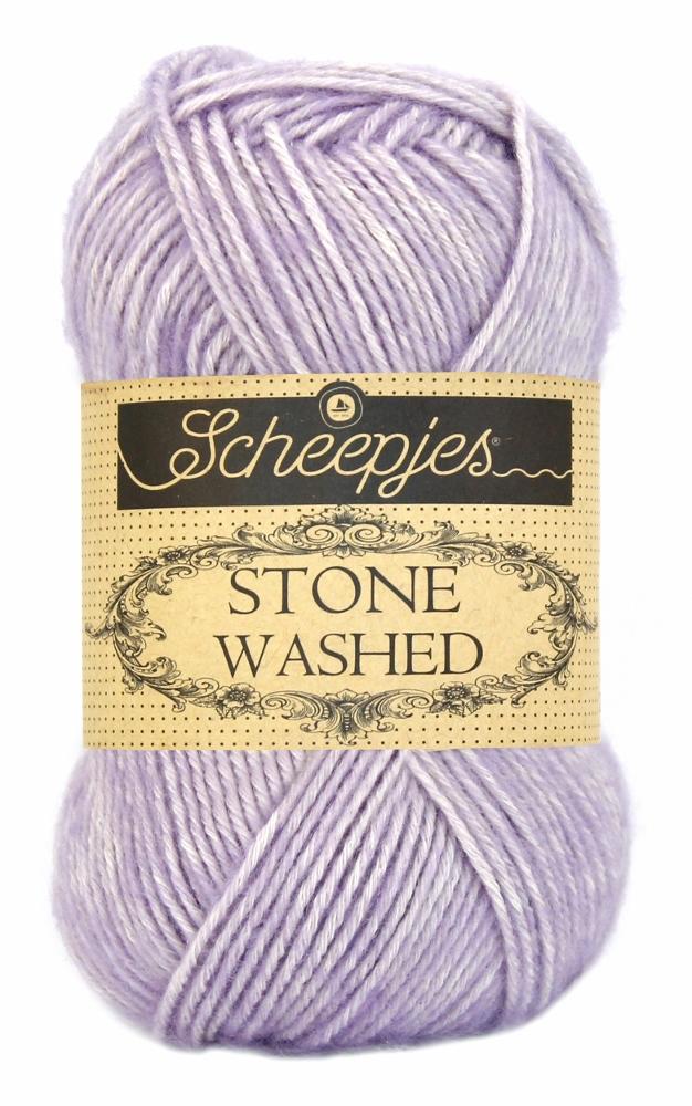 Stone washed fra scheepjes lilac quartz 818 fra N/A på elmelydesign.dk