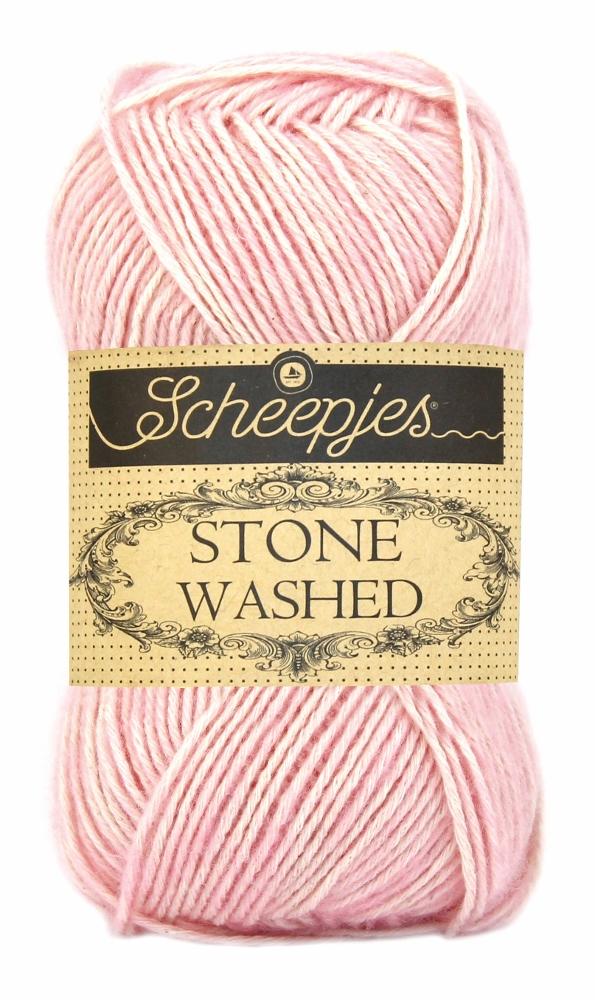 Stone washed fra scheepjes rose quartz 820 fra N/A fra elmelydesign.dk
