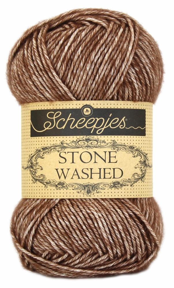 N/A – Stone washed fra scheepjes brown agate 822 fra elmelydesign.dk