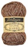Stone Washed fra Scheepjes Brown Agate 822