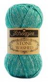 Stone Washed fra Scheepjes Turquoise 824