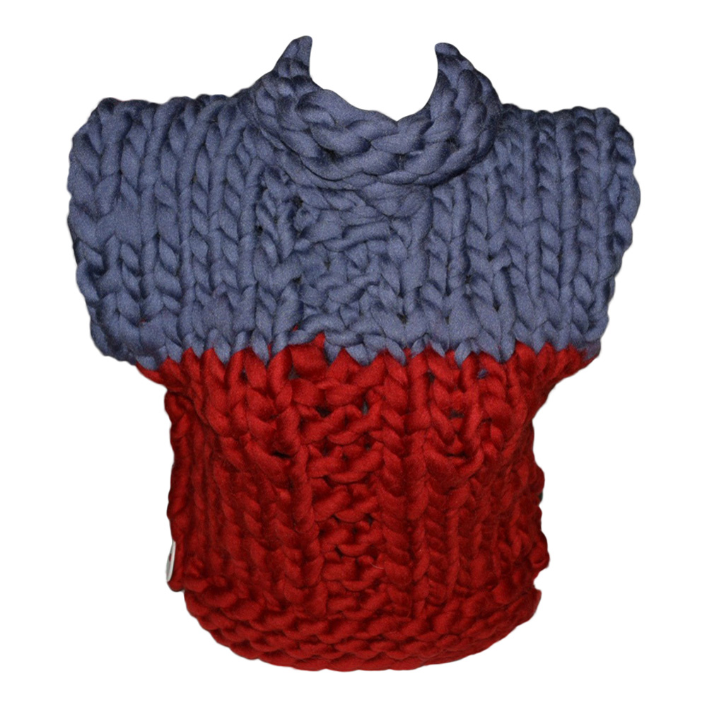 Image of   Strikkekit Chunky Poncho Barn