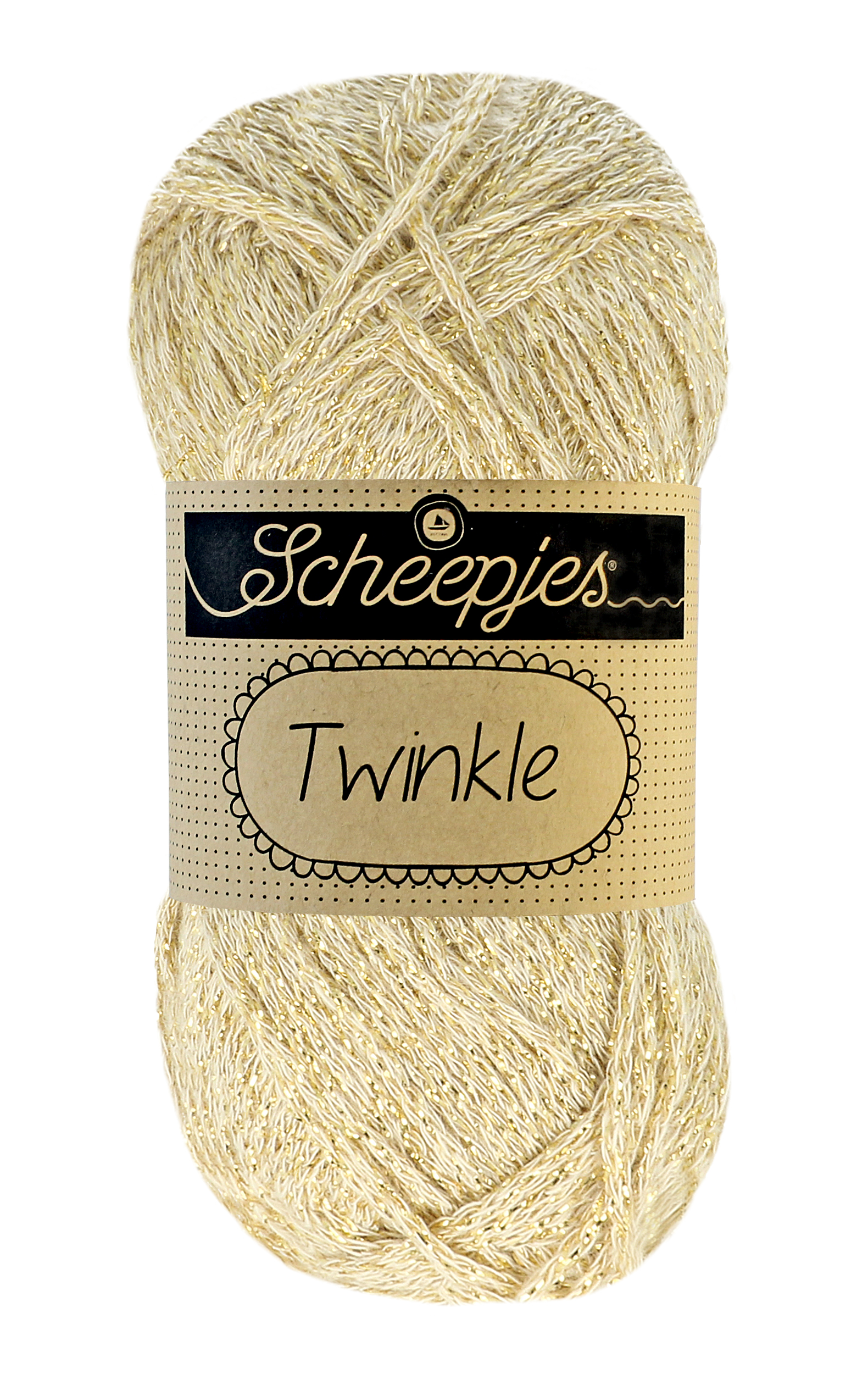 Twinkle fra Scheepjes Light Gold 938