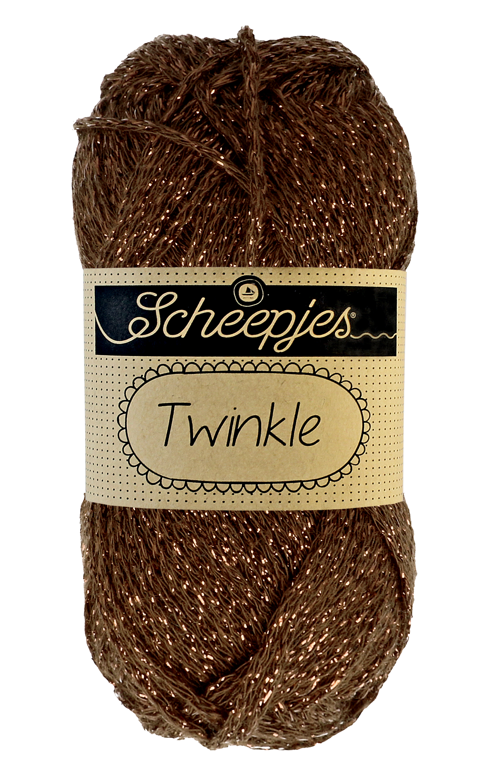 Twinkle fra Scheepjes Warm Brown 939