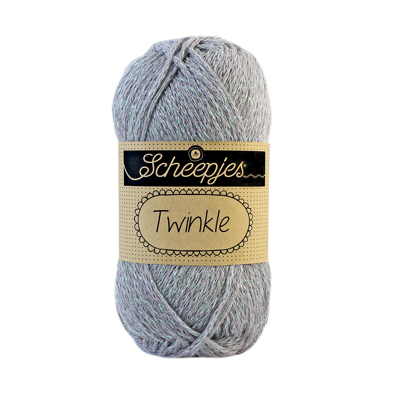 Image of Twinkle garn med glimmer og glitter gray 902