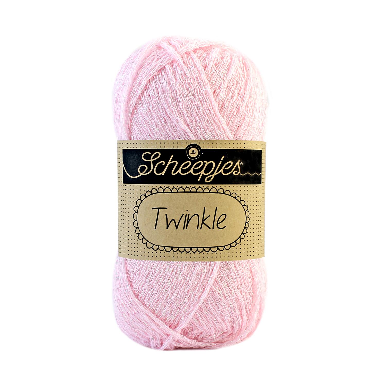 Image of Twinkle garn med glimmer og glitter pink 925