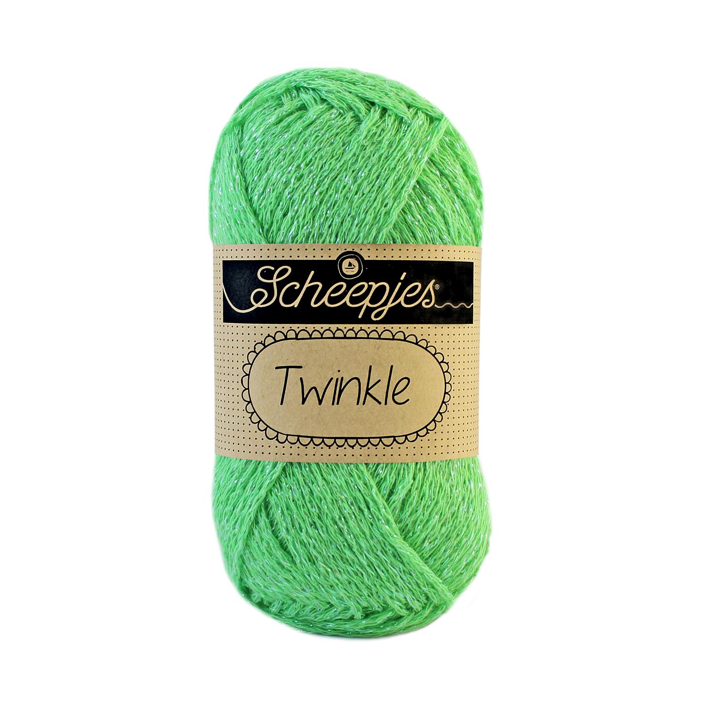 Image of Twinkle garn med glimmer og glitter pistachio 922/