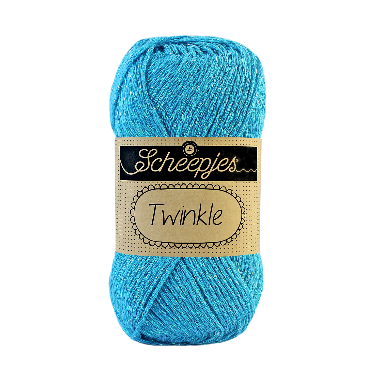 Image of Twinkle garn med glimmer og glitter turkis 910