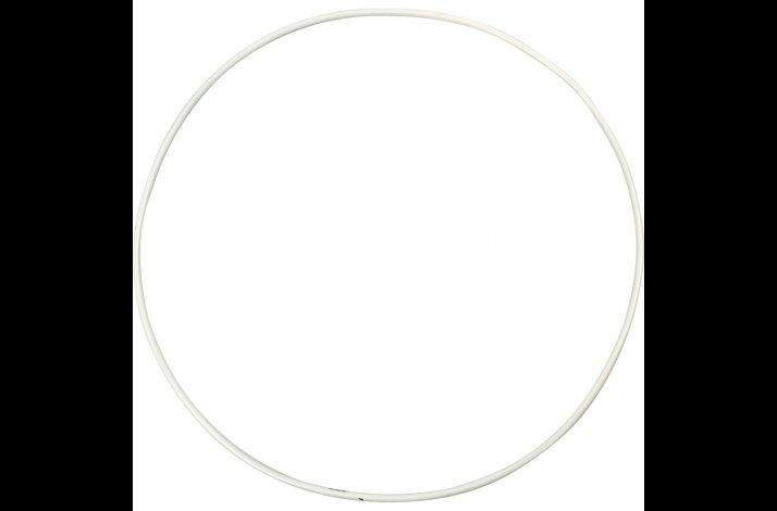 Uroringe metalringe hvide diameter 50 cm, 60 cm og 70 cm sæt