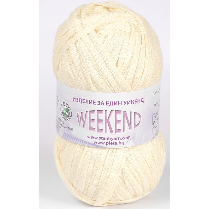Image of   Weekend Cremet Hvid 100
