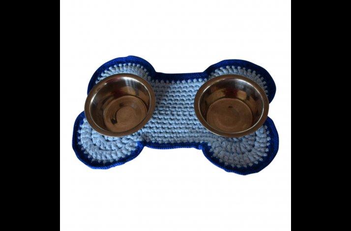 Hækleopskrift Dækkeserviet til hunden