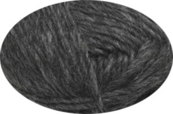 Lett lopi islansk uldgarn også til filtning koks grå fra N/A på elmelydesign.dk