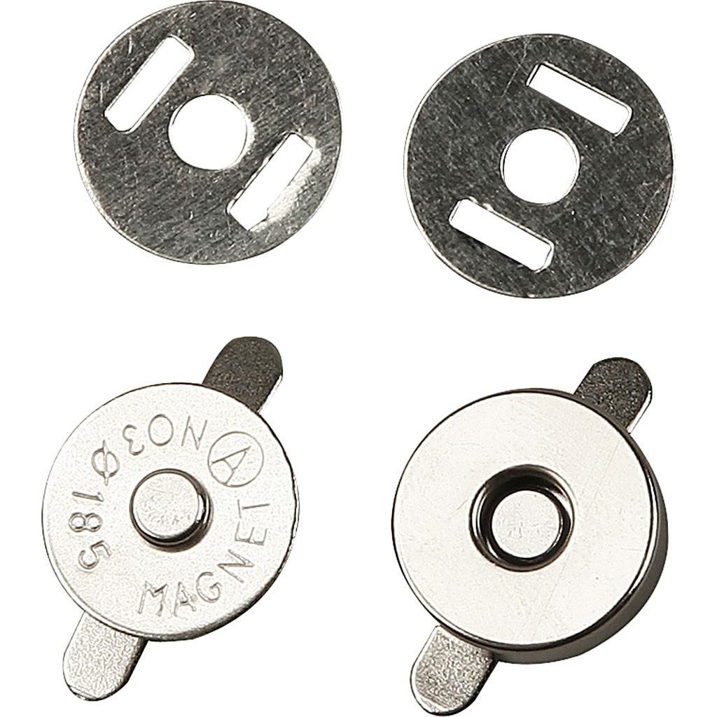 Magnetlås 18 mm i diameter fra N/A på elmelydesign.dk