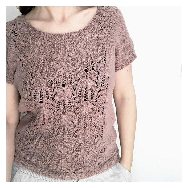 Garnpakke Celine Sommertop Strikket i Organic Cotton fra Krea De Luxe XXL