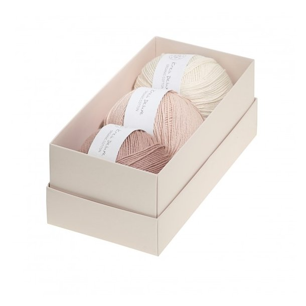 Krea Deluxe Gaveæske med 3 nøgler valgfri organic cotton GOTS certificeret