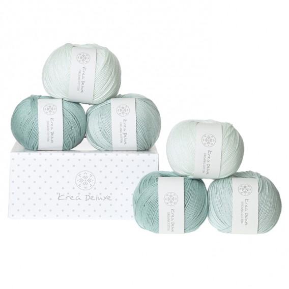 Image of Krea Deluxe Gaveæske med 6 nøgler valgfri organic cotton GOTS certificeret