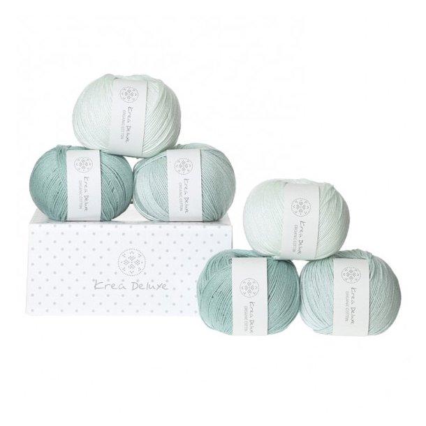Krea Deluxe Gaveæske med 6 nøgler valgfri organic cotton GOTS certificeret