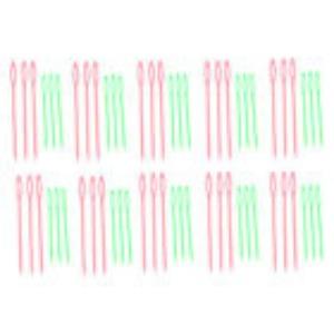 N/A – Plastik nål stor/lille assorteret i størrelse og farve på elmelydesign.dk