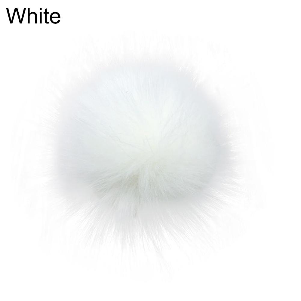 Image of Pompon 14 cm Hvid