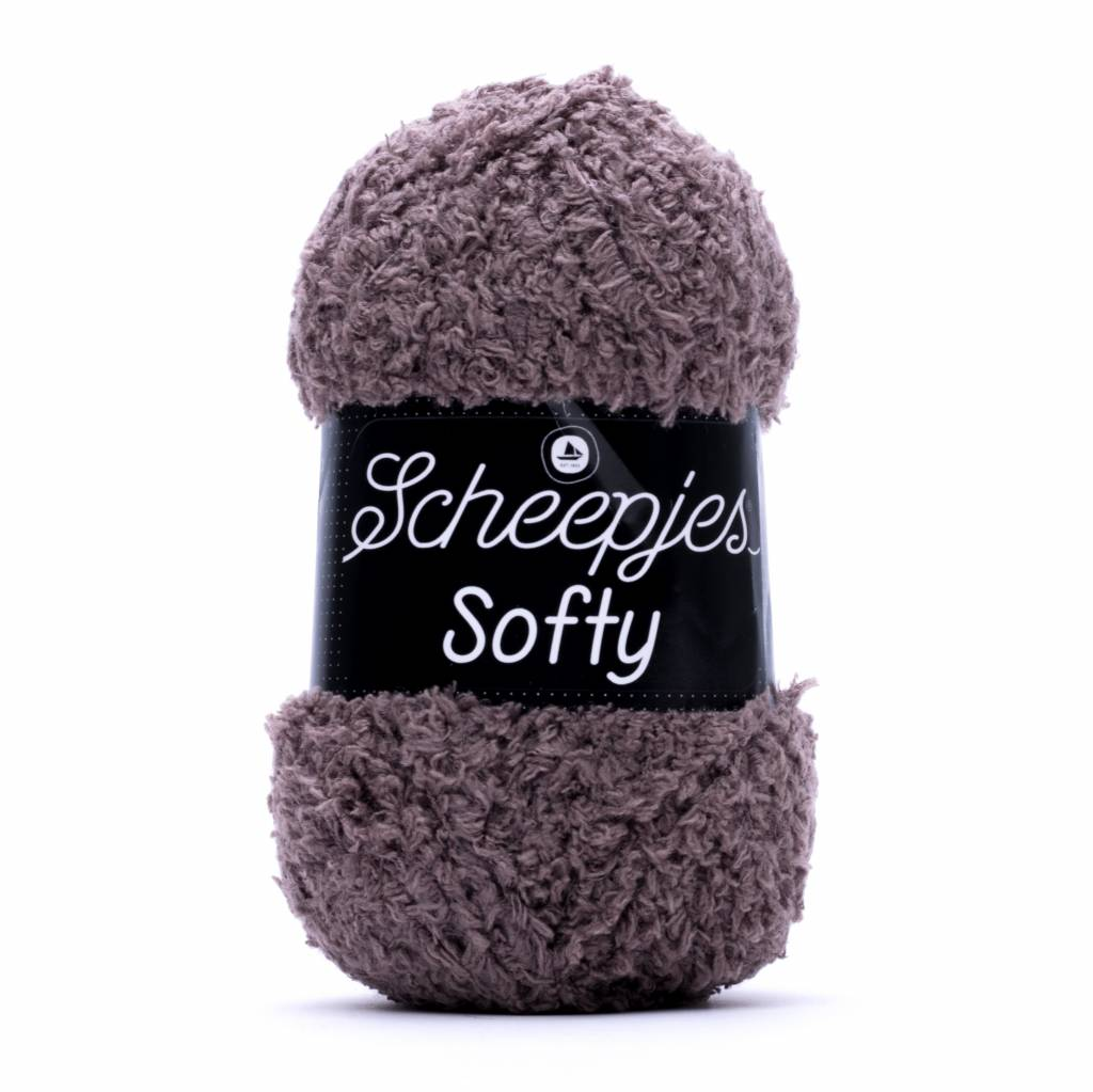 Image of Scheepjes Softy Taupe 473