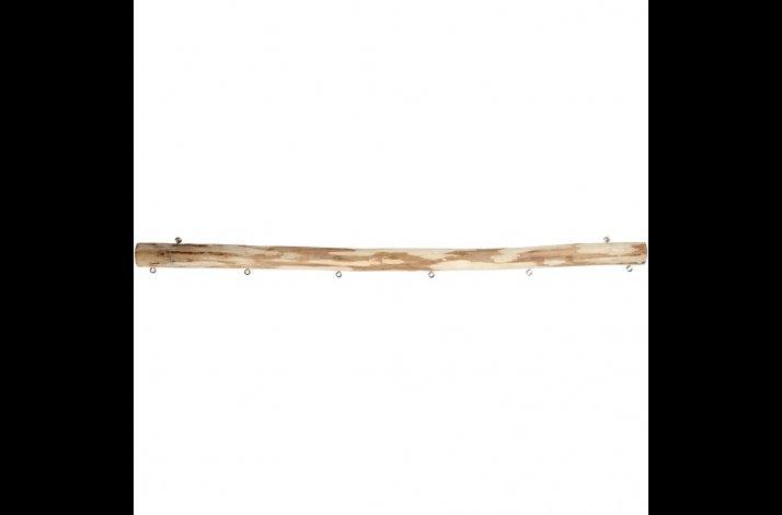 Pind afbarket 60 cm med 2 øskner og 6 øskner